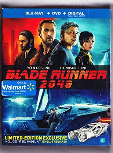 Blade Runner 2049 Blu Ray   Dvd   Digital  Walmart Exclusive