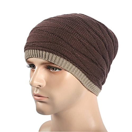 Oversized largo Unisex Skully invierno para casquillo BaronHong café Hat caliente Slouchy Beanie verano el de Heather qEXwx15