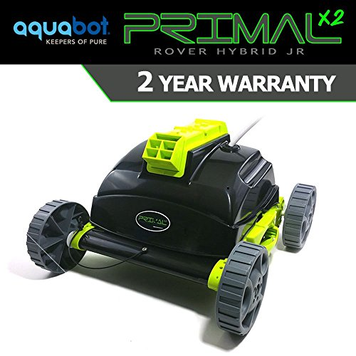 Aquabot Primal Pool Rover Jr Junior Above Ground Robotic Pool Cleaner 2 Year Warranty