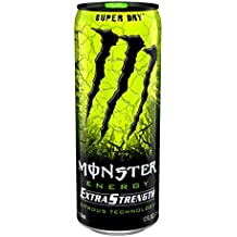 Monster Energy Extra Strength, Super Dry, 12 Ounce (Pack of 12)
