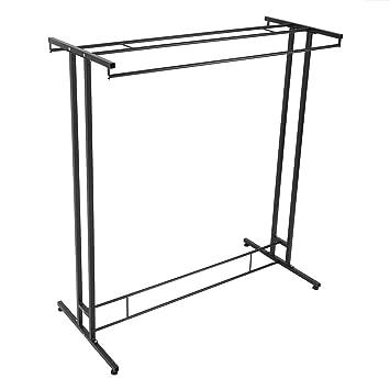 Zerone - Perchero de Metal con Dos Barras Verticales para la ...