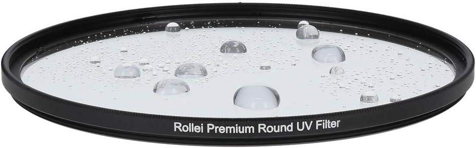 Filtro UV e filtro protettivo con anello in alluminio in vetro Gorilla con rivestimento speciale Dimensioni Rollei Premium Round Filter UV 62 mm 62 mm