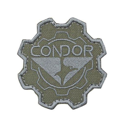 柔らかい足伝統ディスコCONDOR コンドル 243 GEAR PATCH (ワッペン) OD ( cng070503113 )