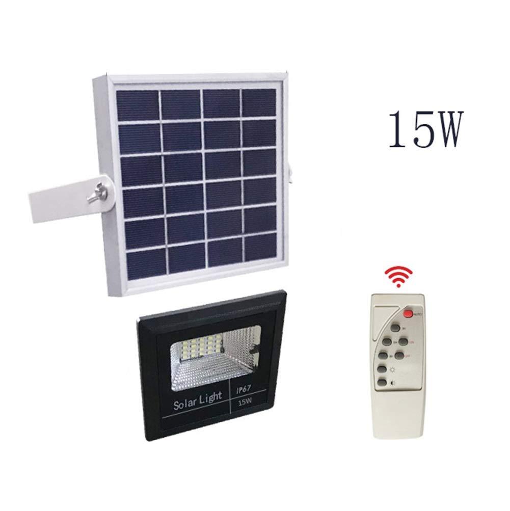 Csndice Home Solare LED Faretto Da Esterno,Super Bright Impermeabile Spotlight Patio Illuminazione Di Sicurezza IP65 66 (dimensioni   15W)