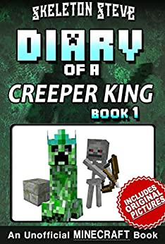 Diary Minecraft Creeper King Unofficial ebook product image