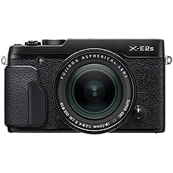 """Fujifilm X-E2S Obiettivo Zoom XF18-55 mm F2.8-4 R LM OIS Fotocamera Digitale da 16.3 Megapixel, Sensore X-Trans CMOS II APS-C, Mirino EVF, Schermo LCD 3"""", Ottiche Intercambiabili, Nero"""