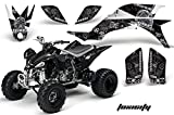 2007 yfz 450 graphics - Yamaha YFZ 450 2004-2013 ATV All Terrain Vehicle AMR Racing Graphic Kit Decal TOXICITY WHITE BLACK