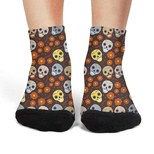 Milr Gile Womens's daisy kingdom daisy flower art Crew Socks Crazy Novelty Socks Athletic Socks