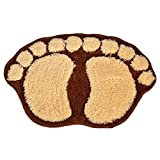 Partiss Bigfoot Doormat, One Size, Coffee