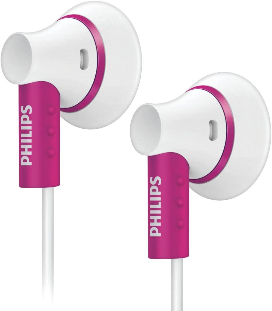 Philips She3000pk 10 In Ear Kopfhörer Weiß Pink Elektronik