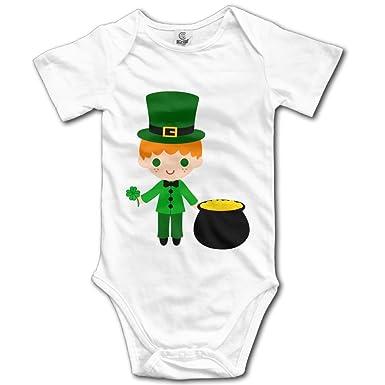 Amazon.com: rainbowhug Leprechauns Unisex pijama para bebé ...