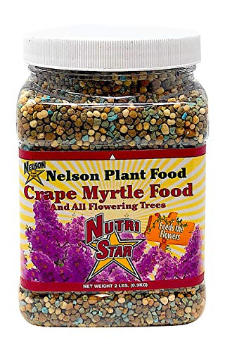 Crape Myrtle & All Flowering Trees Desert Willow Mimosa Orchid Tree Indoor Outdoor Container Grown Granular Fertilizer NutriStar 10-15-9 (2 lb)