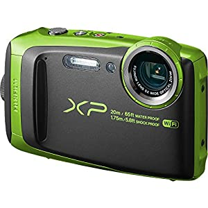 Fujifilm FinePix XP120 Shock & Waterproof Wi-Fi Digital Camera (Lime Green)