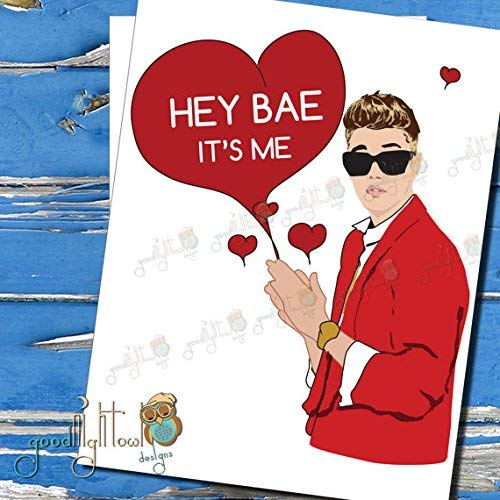 Amazon Bieber Is Bae Justin Love Card BFF