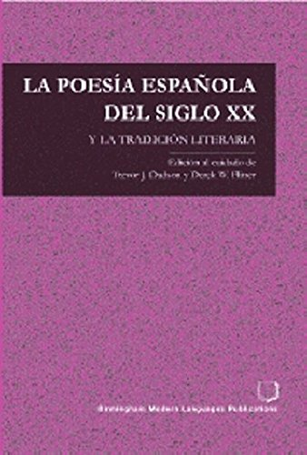 La poesia Espanola del siglo XX y la tradicion literaria pdf