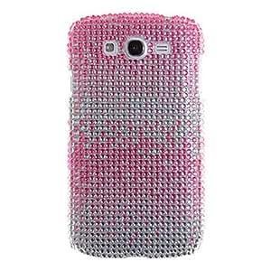 JOE Elegant Gradient Drill Crystal Surface Back Cover for Samsung I9082(Assorted Color) , Pink
