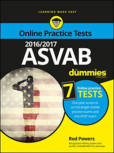 2016 / 2017 ASVAB For Dummies with Online Practice (For Dummies (Career/education))