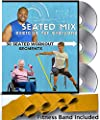 SEATED EXERCISE MIX + RESISTANCE BAND: 30 seated exercise segments! Chair exercises everyone can do. Seated exercise DVDs for a total body workout in your chair. Create a different workout every day!