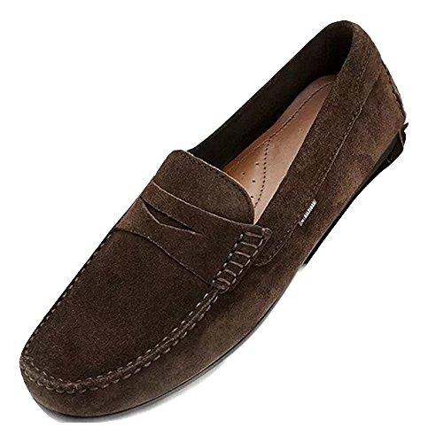 Tommy Hilfiger Leather Mokassins, Herren Leder Schuhe, Size 43 EUR 9 UK