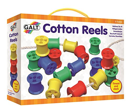 Galt Toys Cotton Reels Set Assorted Colours Pack of 20
