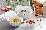 3 Piece Porcelain Serving Bowls Set - Salad Bowls/Cereal Bowls/Dessert Bowls/Ice Cream Bowls (3 piece)