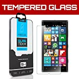 SOJITEK Nokia Lumia 830 Premium Ballistic Tempered Glass Screen Protector with Lifetime Replacement Warranty - High Definition (HD) Ultra Clear 99.99% Clarity and Touchscreen Accuracy Smart Film - Retail Packaging 2014 (0.33mm, 2.5D Rounded borders)