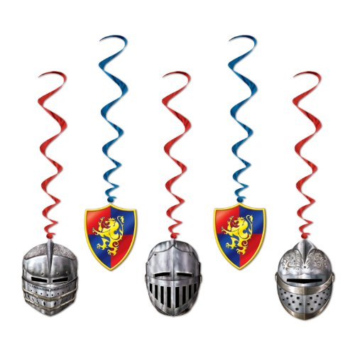 Medieval Whirls (5/Pkg) (Renaissance Party Supplies)