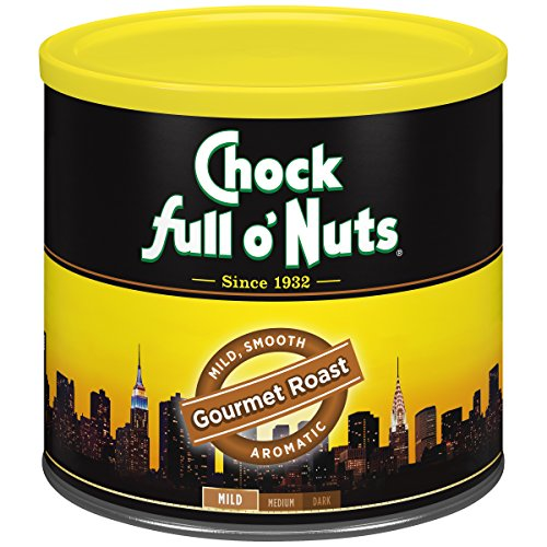 Chock Full o'Nuts Coffee, Gourmet Roast Ground, 26 Ounce