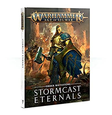 Citadel Battletome Stormcast Eternals Warhammer Age of Sigmar (HB) by Warhammer