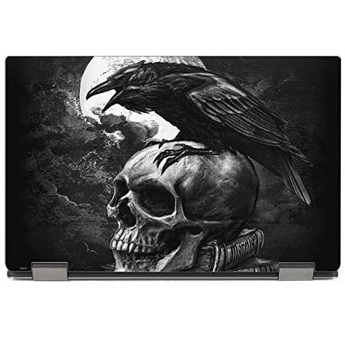 Skinit Skull & Bones XPS 13 2-in-1 (2018) Skin - Alchemy - Poe's Raven Design - Ultra Thin, Lightweight Vinyl Decal Protection