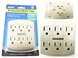 OUTLET ADAPTER 6 PLUGS, Case of 96