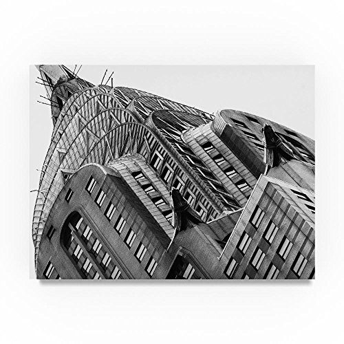 Chrysler Building 2 by Chris Bliss, 18x24-Inch Canvas Wall Art