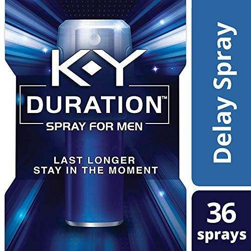 K-Y Duration Male Genital Desensitizer Spray to last longer