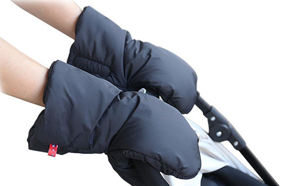 Moufle de poussette universelle Gants de poussette-Accessoires de poussette dhiver anti-gel extra-/épais