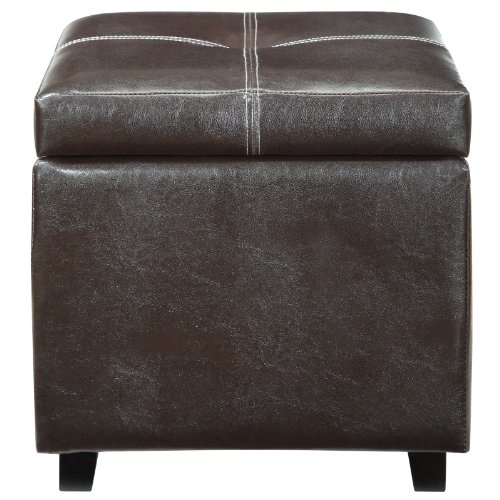 Modern Contemporary Ottoman Brown by America Luxury - Chairs