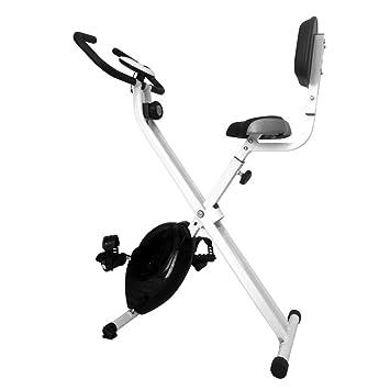 Gyrowheel Bicicleta estática Plegable Unisex, Negro
