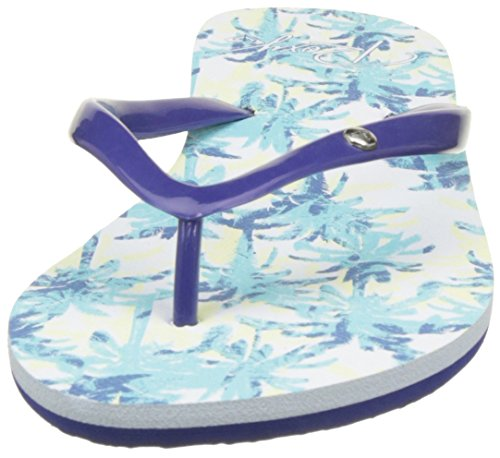para Chanclas Azul Portofino Buf Roxy Print Mujer Blue EqwUnnSOFB