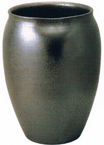 ラスターブラックC 19号 信楽焼 陶器 花器 花入 花瓶 B009QXUTV2