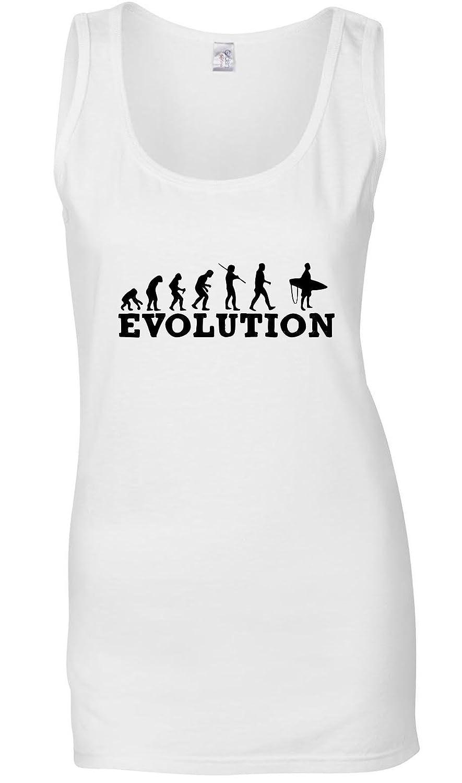 Evolution Ski Surfing Women's Tank Top T-Shirt