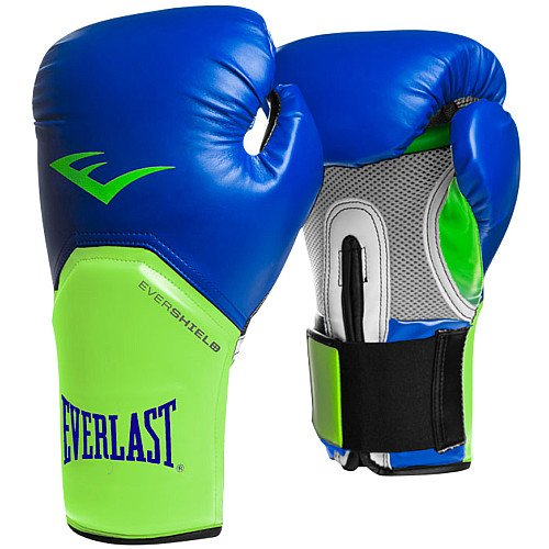 Everlast Pro Style Elite Training Glove, Blue, 12 oz