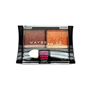 Maybelline New York Expert Wear Eyeshadow Duo, Copper Diamond