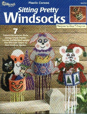 (Sitting Pretty Windsocks (Plastic Canvas))