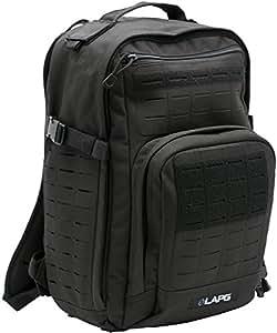 LA Police Gear Atlas 12 Hour Tactical Backpack - Black