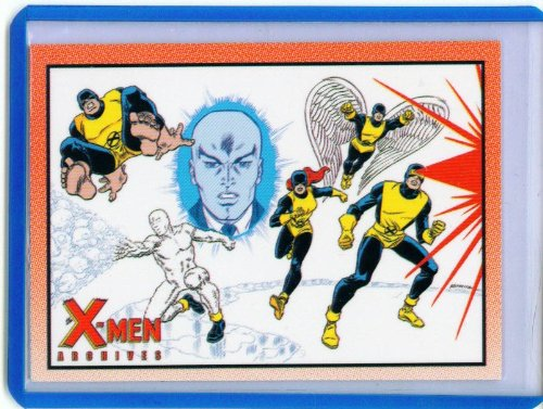 (X-Men Archives Trading Cards Promo Card)