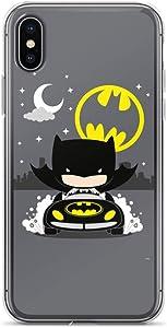 iPhone 6 Plus/6s Plus Case Anti-Scratch Comic Strip Transparent Cases Cover Dark Knight Comics Comedian Crystal Clear