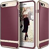 Caseology [Wavelength Series] iPhone 8 Plus/iPhone 7 Plus Case - [Stylish & Protective] - Burgundy
