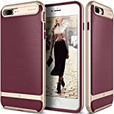 Caseology [Wavelength Series] iPhone 8 Plus/iPhone 7 Plus Case - [Stylish & Protective] - Burgundy