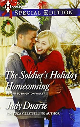 book cover of The Soldier\'s Holiday Homecoming