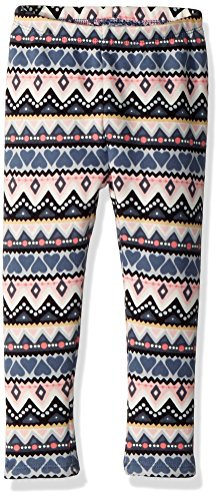 Gymboree Girls' Toddler Warm & Fuzzy Leggings, Grey fair isle, - Girls Gymboree Pants Fleece
