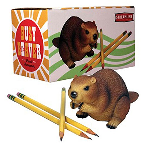 Busy Beaver Twist Pencil Sharpener Eager Animal Home Office Desk Accessory